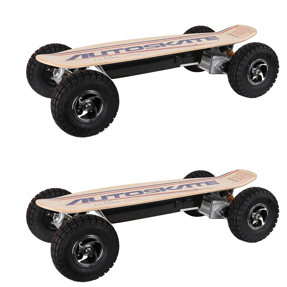 China factory all terrain adults off road four wheels electric skateboard, Customized
