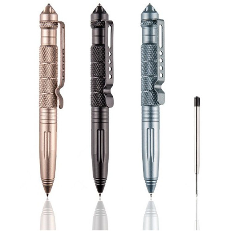1PCS Multi-functional Tungsten Steel Rotating Unisex Tool Window Glass Metal <strong>Tactical</strong> Ballpoint