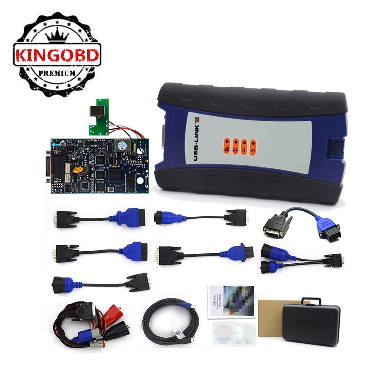 NEW NEXIQED2 USB Link 2+ Software without Bluetooth Diesel NEXIQED truck diagnostic tool and Software with All Installers