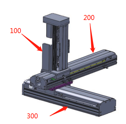 cnc linear guide stage rail motion slide from Tianjin