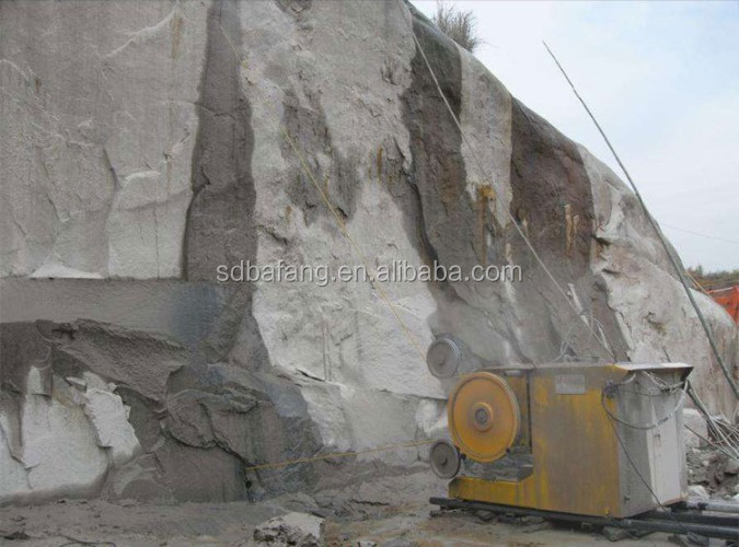 High Efficiency Hydraulic Granite Marble Diamond Wire Saw Cutting Machine For Metal and Jade Mining