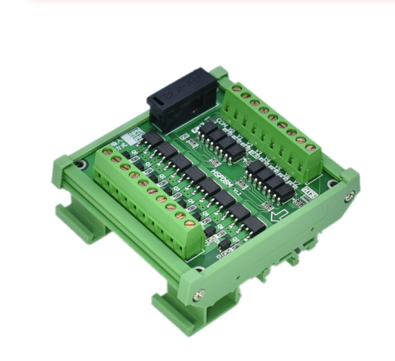 8channel NPN output PLC amplifier module solenoid valve drive relay IO interface board photoelectric isolation solid-state relay