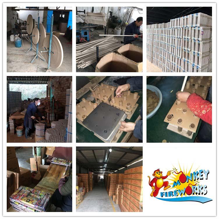 Китайский завод фейерверков и петарды на новый год