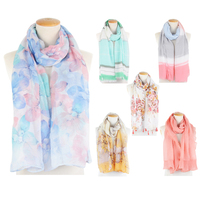 TOROS Ladies fashion Spring Printed scarf High quality women light scarf