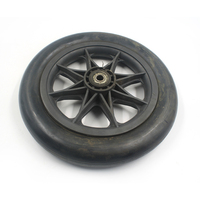 China factory different inch high quality solid rubber wheel