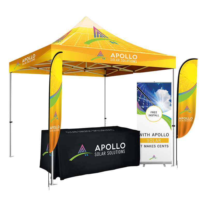 40mm Hex Aluminum Advertising <strong>Trade</strong> Show Easy Pop Up Tent Tent (1 Roof Cover+1 Frame+1 Full Cover)