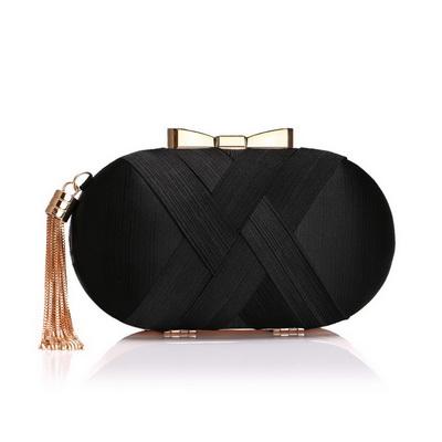 SEKUSA Модные женские вечерние сумки с кисточками Дамский клатч кошелек на плечо с цепочкой Свадебные вечерние сумки(Китай)