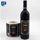 Custom Sticker Private Paper Wholesale Custom Adhesive Private Paper Red Wine Bottle Sticker for Wine Bottle Printing Labels