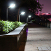 Water Resistant Novelty Garden Exterior L Shaped LED Lawn pathway lights Solar LED Outdoor Landscape Lighting