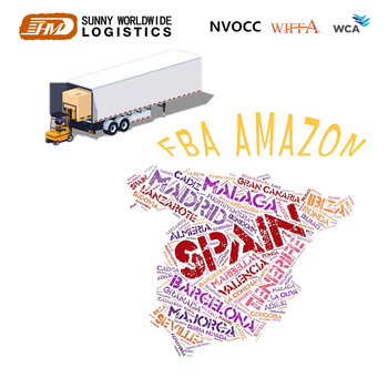 Shipping Rates From China To SPAIN By AIR Door To Door DDU DDP AMAZON FBA
