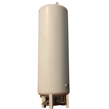 5-150CBM Cryogenic Liquefied Natural Gas LNG Vertical Storage Tank Chinese