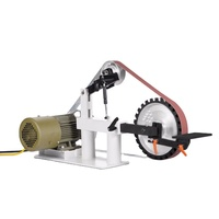 2HP 1.5KW VARIABLE SPEED 220V MOTOR BELT GRINDER MACHINE FOR SALE
