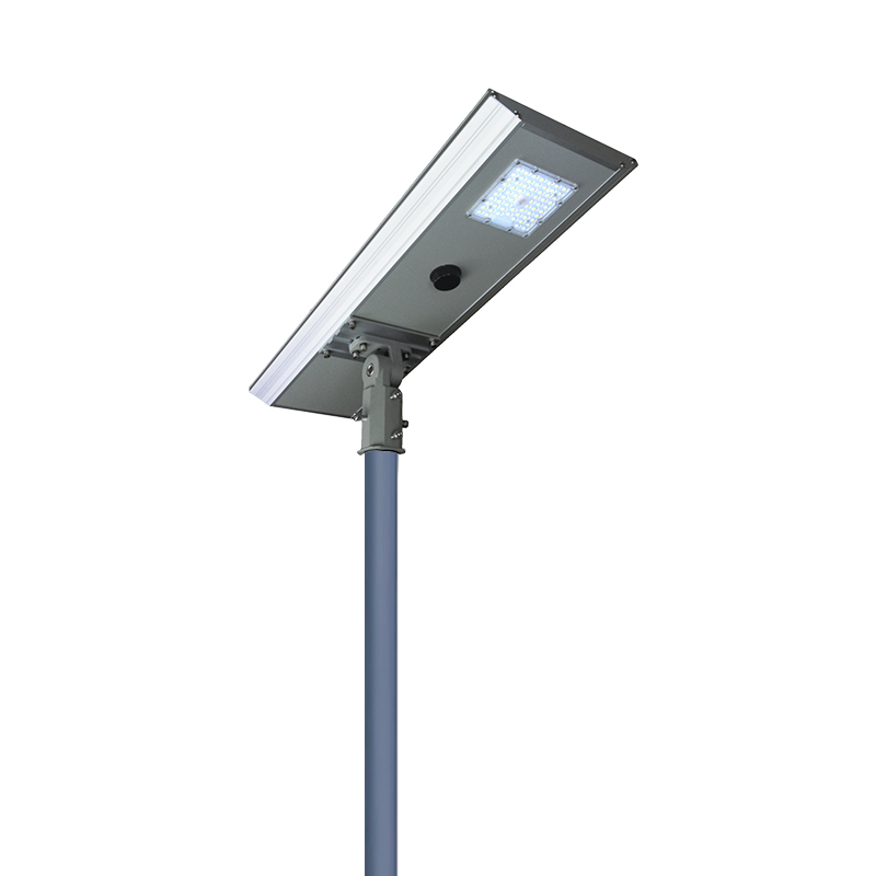 High bright outdoor 30w all in one integrated solar street <strong>light</strong>
