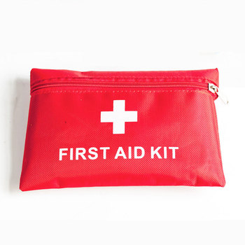 Best Price Small Waterproof Bag 13pcs Emergency Prevention Equipment Home Car First Aid Kit For Sale