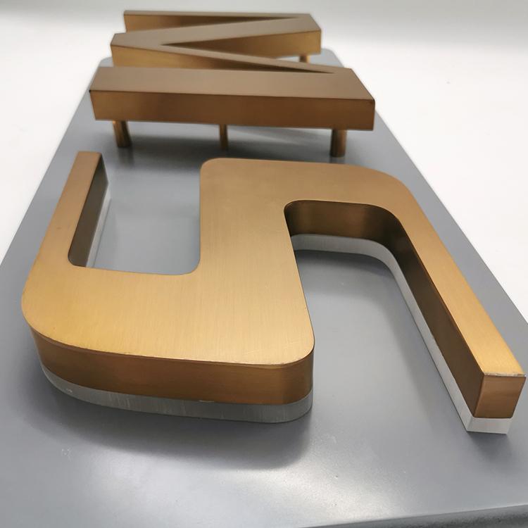 China Manufacturer 3d Store Signage Illuminated Letters Signs Acrylic Led Shop Signage