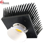 120W led splayed pin fin heatsink pre-drilled cxb3590/vero29 and CLU048&058 series COBs holes