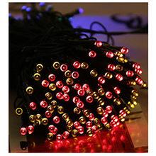 200 LED Солнечные Строка сказочных огней открытый Водонепроницаемый освещения сад Новогодняя гирлянда 8 Режим солнечные лампы фея света 22 м(Китай)
