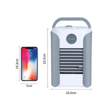 1 шт. многофункциональный вентилятор кондиционера с FM Bluetooth USB зарядкой портативный домашний холодильник вентилятор кондиционера Прямая по...(Китай)