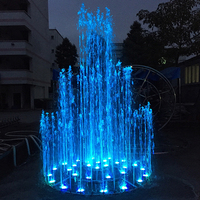 Outdoor Garden Lake Music Dancing Water Fountain