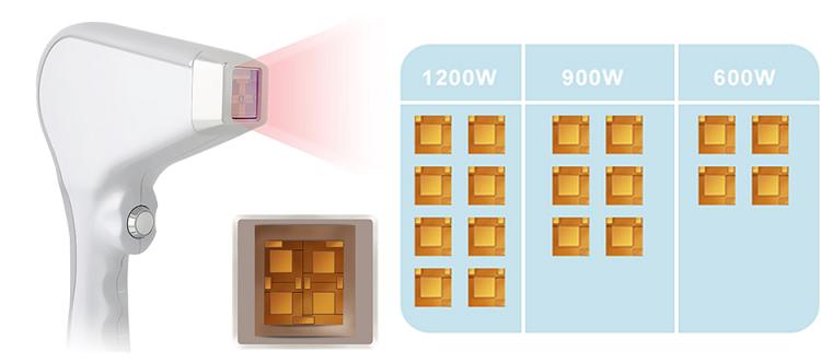 Nessuno Canale Triple lunghezza d'onda 808nm 755nm 1064nm diodo laser di rimozione dei capelli apparecchiatura di bellezza