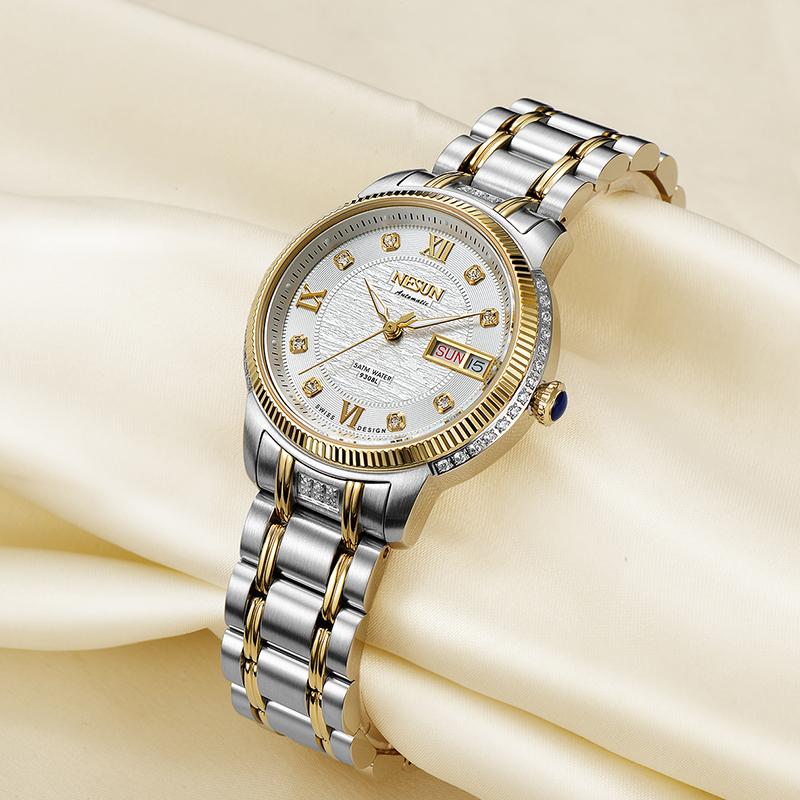 Customized Logo Male and Female Couple Waterproof Luminous Business Luxury Optional Color Matching watches men wrist