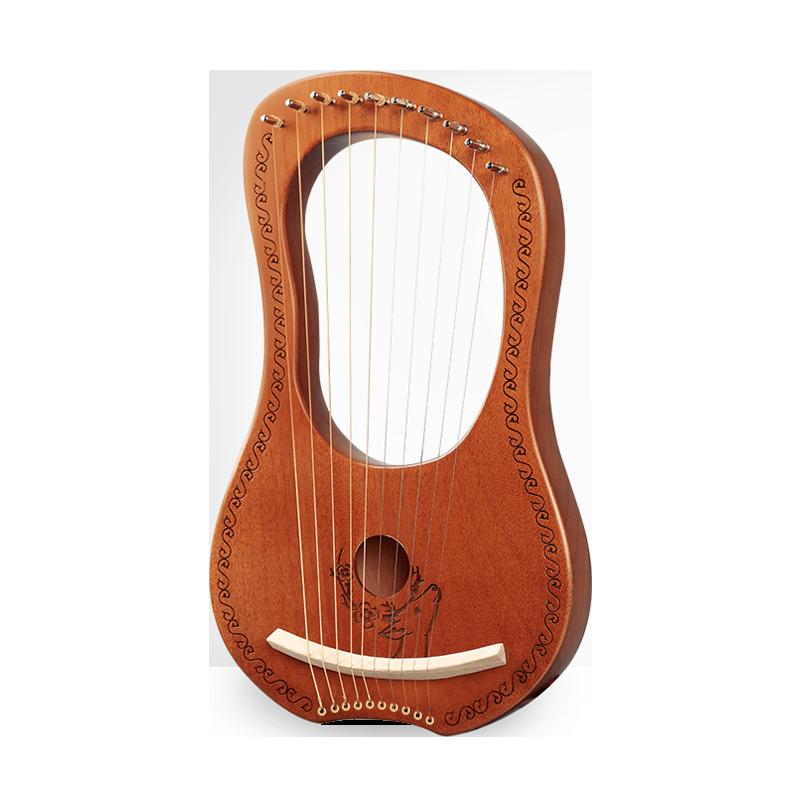 Buona per il Cervello 10 Corde Strumenti Musicali Lira Arpa Strings