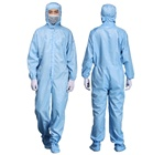 Antistatic dust-proof coverall cleanroom uniform ESD Jumpsuit