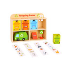 2020 New Wooden Recycling Centre Educational Learning Gift Set Toy For Kids