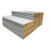 fireproof insulation cool room panel 50mm 100mm glass wool rock wool sandwich panel roofing panel