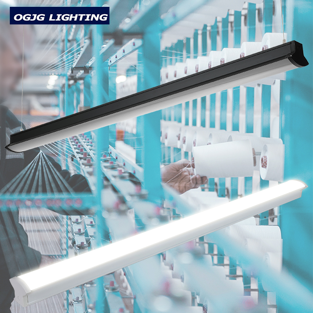 CE CB warehouse store fluorescent fixture 20W 40W 50W 60W 80W linkable led batten light