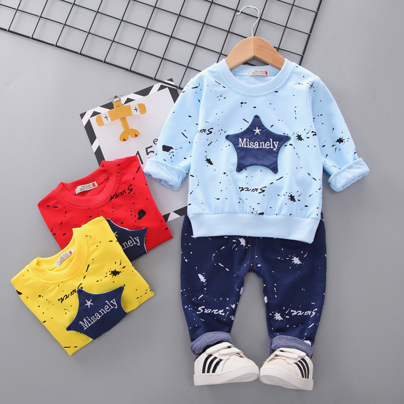 Korean Children S Clothing Spring And Autumn 2019 New Boy Fashion Set Suit Children Two Piece Suit Buy Fashion Design Punjabi Suit Young Girl Sexy Fashion Bikini Swimming Suits Suit And Tie Pajama Product On
