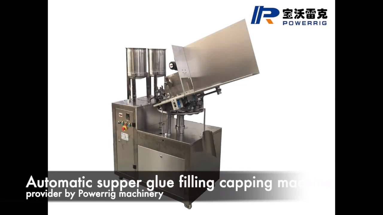 502 glue tube filling sealing machine for sale