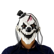 Halloween Kap <span class=keywords><strong>Latex</strong></span> <span class=keywords><strong>Masker</strong></span> Enge Spookhuis Clown Grimas Hood Halloween Cosplay Kostuum <span class=keywords><strong>Masker</strong></span>