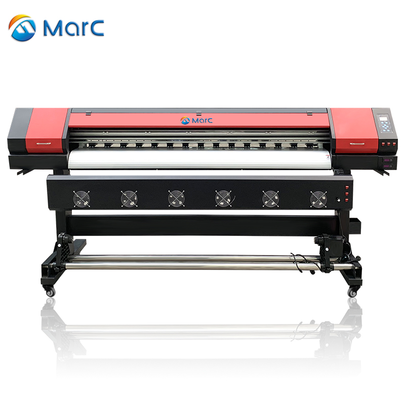1.6m 1.8m 3.2m 1440dpi MarC vinyl printer used wide format printers digital fabric printing machine