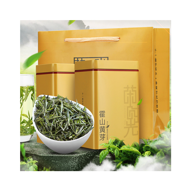 100% Natural and Organic Huoshan Huangya Yellow Tea with Gift Box - 4uTea   4uTea.com