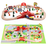 Children Play Cars Toy Train