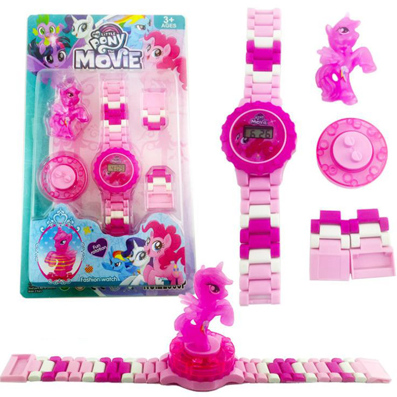 Super Hero Watch Building Blocks Marveling Figures Bricks Funny Toys for Children Compatible LegoING Watch Gift