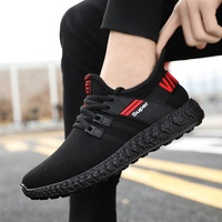 963A wholesale sports sneakers men's 2019 spring breathing flymesh shoes men sneakers trendy mens trainers