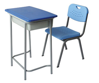 Cheap school furniture plastic-iron student chair classroom desk manufacturers