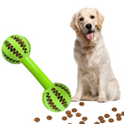 Bite resistant Pet dog chew teeth clean toy Rubber toothbrush chew stick set Watermelon Dog chew ball for pet