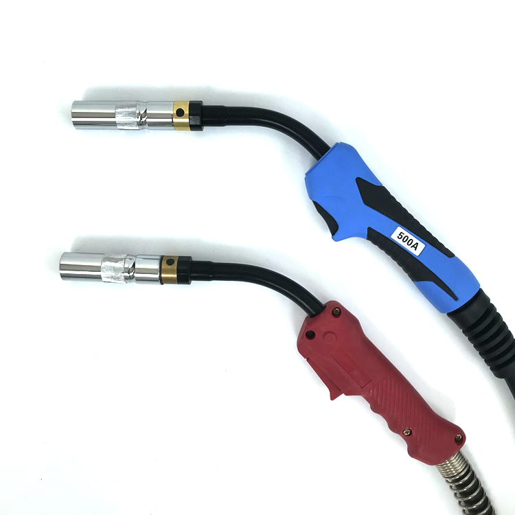 M6 Connecteur Rapide de Gaz et dEau Adaptateur Refroidi /à lEau et Gaz pour Raccord de Chalumeau MIG TIG Raccord de Torche de Soudeuse Gold