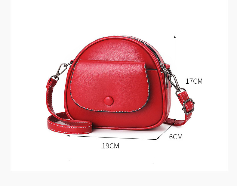 product-Fashion Small Cross body Bags for Women 2020 Mini PU Leather Shoulder bag Messenger Bag for -2