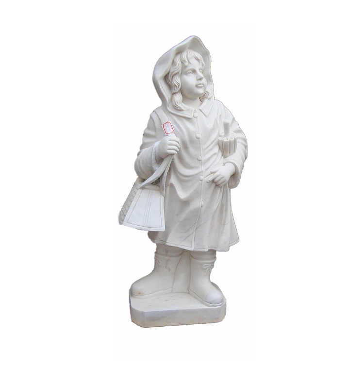 MGP190 Garden Stone Marble Statue of Beautiful Girl