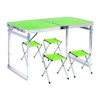 High Quality Portable Foldable Aluminum Table and Chair Sets
