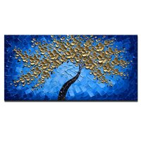 3D Flower Oil Painting Canvas Paintings Wall Art For Living Room Bedroom