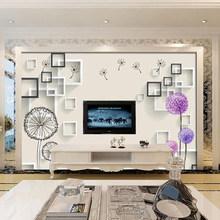 Настенная 3D Бумага для гостиной, спальни, с цветочным рисунком, шелковая ткань, Декор для дома(Китай)