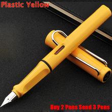 Классический дизайн авторучка в форме сафари Хорошее качество школьная Студенческая авторучка купить 2 ручки отправить 3(Китай)