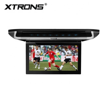 "Xtrons 10"" 1280*800 TFT Screen HDMI portable dvd roof monitor with native 32 bit games, car back seat TV"