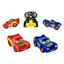 Customized Rubber TPR Squishy Toys Disny Pixar Cars Small Model Cars