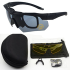 New Style Tactical Combat Sunglasses Men Tactical Military Ballistic Eyeshield Shooting Glasses Goggles